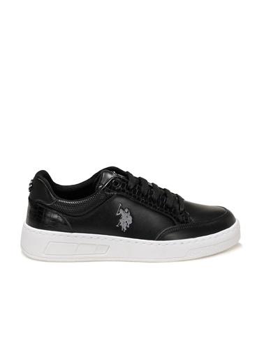 U.S. Polo Assn. Soleta 1Fx Kadın Sneaker Siyah